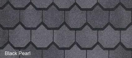 American Shingles Australia Carriage House Black Pearl CertainTeed Asphalt Shingles