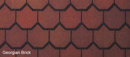 American Shingles Australia Carriage House Georgian Brick CertainTeed Asphalt Shingles